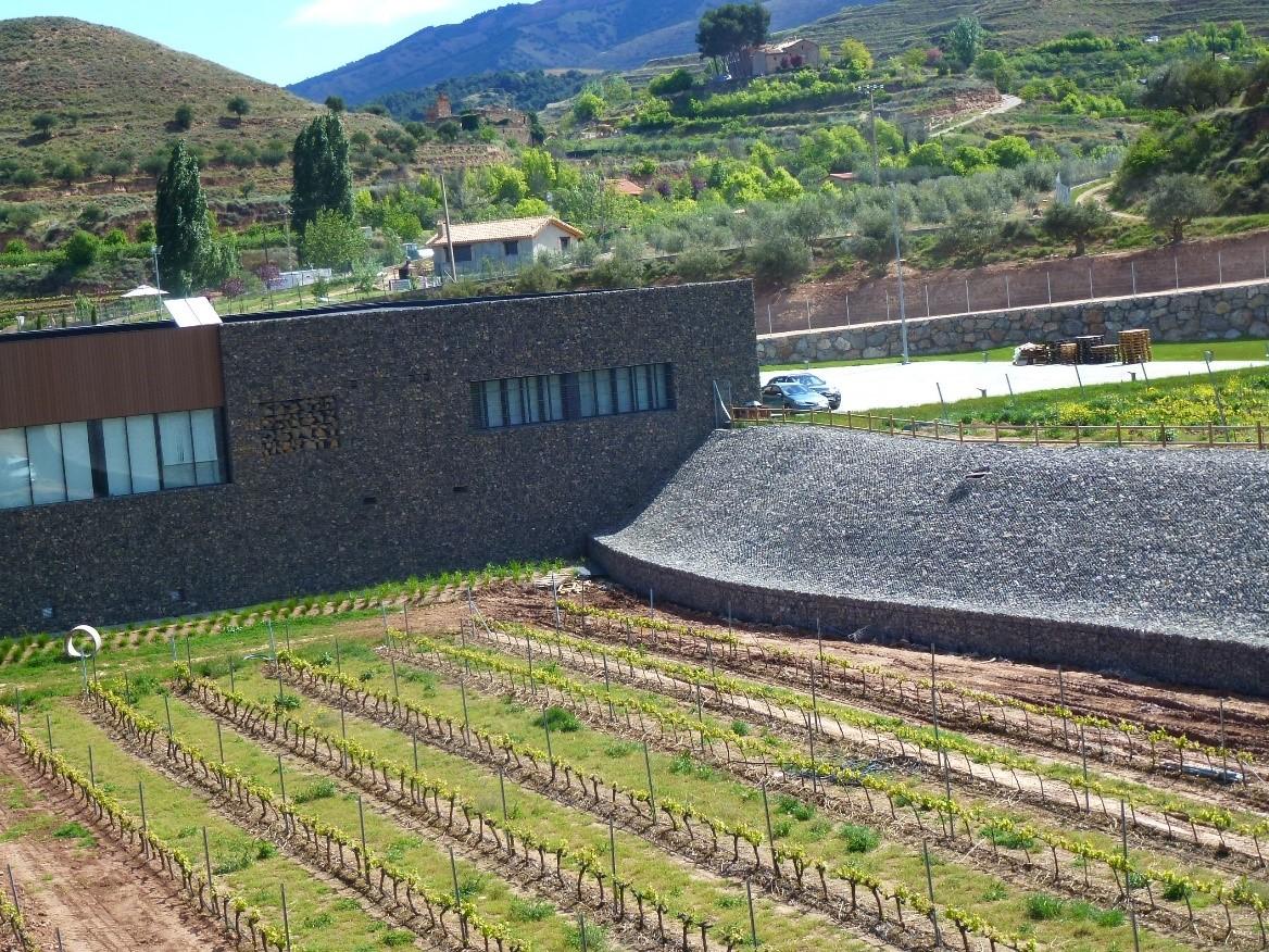REVESTIMIENTO DE BODEGA PROELIO EN NALDA, Rioja 1 - EDTF