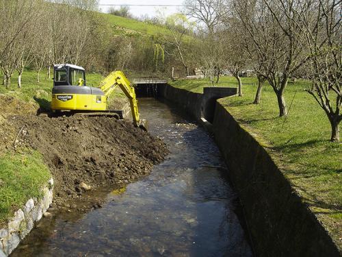 Actuaciones de contención en ríos ETF